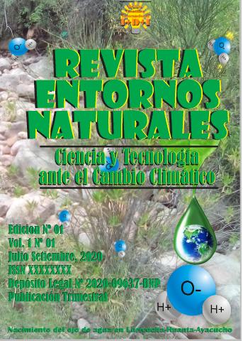 Revista Entornos naturales